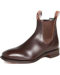 R.M. Williams Men's Comfort Craft Leather Chelsea Boots - Brown