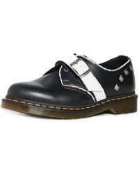 Dr. Martens Zambello Stud 3 Eye Shoes - Black