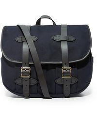 Filson Medium Field Bag - Blue