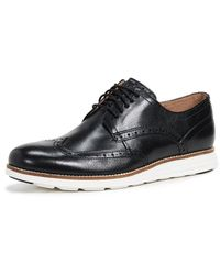 Cole Haan Original Grand Short Wingtip Oxford Shoes - Black