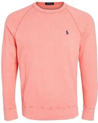 Polo Ralph Lauren Spa Terry Sweatshirt - Red