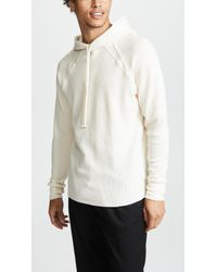 Twenty - Everest Thermal Raw Edge Hoodie - Lyst