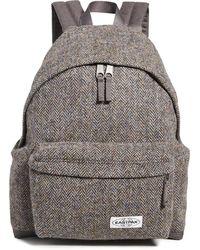 Eastpak X Harris Tweed Padded Pak'r Backpack - Gray