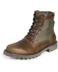 Barbour Cheviot Derby Boots - Brown