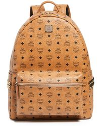 MCM - Stark Large Side Stud Backpack - Lyst