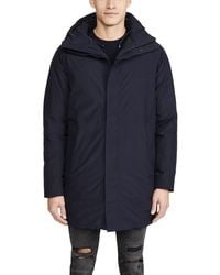 Norse Projects Rokkvi 5.0 Gore Tex Down Jacket - Blue