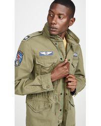 Polo Ralph Lauren Cotton Herringbone M65 Jacket - Green