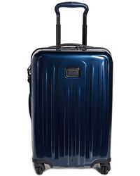 Tumi V4 Expandable 4 Wheel Suitcase - Blue