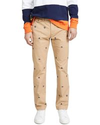 Polo Ralph Lauren Stretch Chino Pants - Straight - Natural