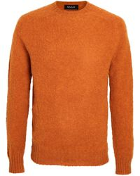 Howlin' By Morrison Birth Of The Cool Wool Jumper - Orange