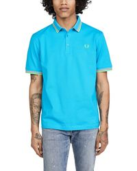 Fred Perry Made In Japan Polo - Blue
