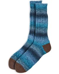 Anonymous Ism Splace Crew Socks - Blue