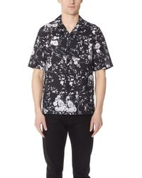 McQ - Floral Billy Shirt - Lyst