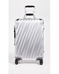Tumi 19 Degree Aluminum International Carry On - Metallic