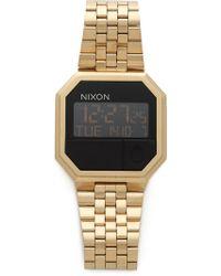 Nixon Re-run Watch - Metallic