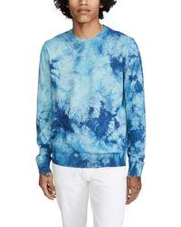 PS by Paul Smith Tie Dye Jumper - Blue