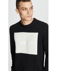 Calvin Klein - Logo Jumper - Lyst