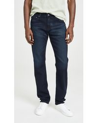 AG Jeans Graduate Denim In Bundled Wash - Blue