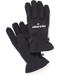 Polo Ralph Lauren Polo Sport Fleece Touch Gloves - Black