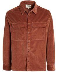 Madewell Wide Wale Corduroy Overshirt - Brown