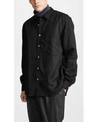 Lemaire - Straight Collar Shirt - Lyst