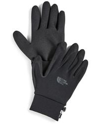 The North Face E-tip Grip Gloves - Black