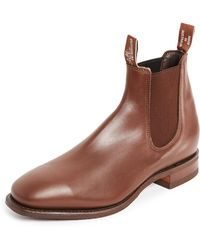 R.M. Williams Comfort Rm Leather Chelsea Boots - Brown