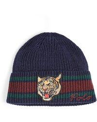 Polo Ralph Lauren Bengal Mascot Tiger Hat - Blue