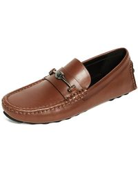 COACH - Crosby Turnlock Driver Shoes - Lyst