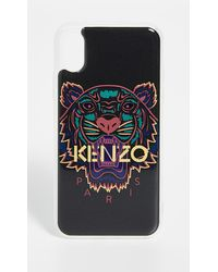 KENZO Iphone Xs Max Tiger Case - Black