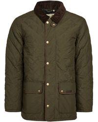 Barbour Burton Quilt Coat - Green