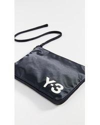Y-3 Slim Pouch - Black