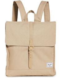 Herschel Supply Co. City Mid Volume Backpack - Natural