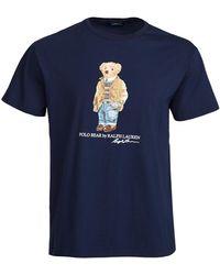 Polo Ralph Lauren Short Sleeve Jersey T-shirt - Blue