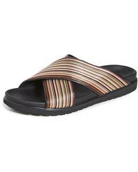 Paul Smith Pax Striped Sandals - Multicolor