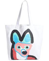 Maison Kitsuné Tote Bag Acide - Multicolor