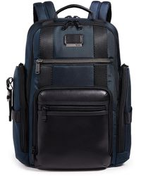 Tumi Alpha Bravo Sheppard Deluxe Brief Pack - Blue