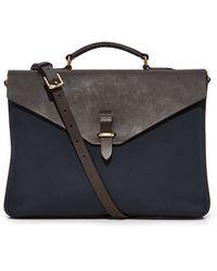 Mismo M/s Bureau Briefcase - Blue
