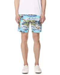 Polo Ralph Lauren - Montauk Chino Shorts With Hawaiian Landscape - Lyst