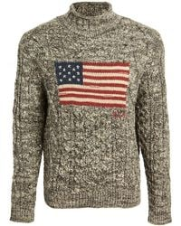 Polo Ralph Lauren Ragg Wool Flag Sweater - Multicolour