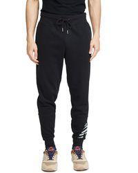 New Balance Reflective Logo Joggers - Black
