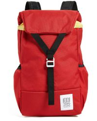 Topo Designs - Y-pack (clay) Backpack Bags - Lyst