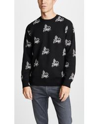Obey - Scorpion Knitted Jumper - Lyst