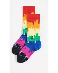 Stance - Pride Dripping Rainbow Socks - Lyst