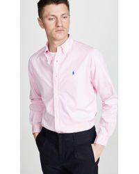 Polo Ralph Lauren Chino Shirt - Pink