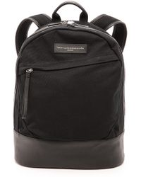 Want Les Essentiels De La Vie Canvas Kastrup Backpack - Black