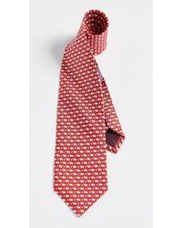 Ferragamo - Pig Tie - Lyst