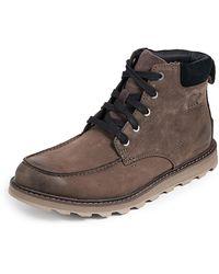 Sorel Madson Moc Toe Waterproof Boots - Brown