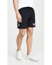 "RVCA Va Sport Grappler 17"" Shorts - Black"