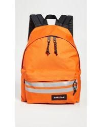 Eastpak Reflective Padded Pak'r Backpack - Orange